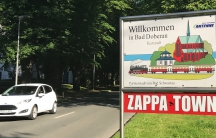 Bad Doberan, Germany is the home of Zappanale, an annual summer festival inspired by the life and work of Frank Zappa.